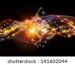 creative arrangement of lights  ... | Shutterstock . vector #141602044