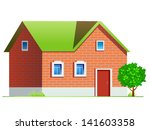 house 1 | Shutterstock .eps vector #141603358