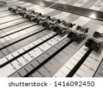 audio mixer  mixing console ... | Shutterstock . vector #1416092450