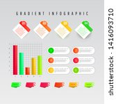 creative flat gradient element...