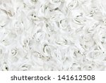 background of artificial rose... | Shutterstock . vector #141612508