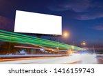billboard blank for outdoor... | Shutterstock . vector #1416159743