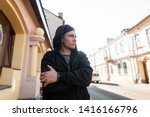 attractive young man in a... | Shutterstock . vector #1416166796