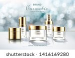 skincare cosmetic set ads on... | Shutterstock .eps vector #1416169280