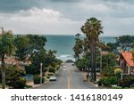 a street with view of the...   Shutterstock . vector #1416180149