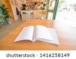 blank catalog  magazines book... | Shutterstock . vector #1416258149