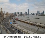 shanghai  china   22nd march... | Shutterstock . vector #1416275669