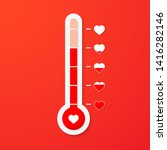 Love Thermometer. Valentines...