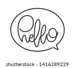 vector illustration ... | Shutterstock .eps vector #1416289229