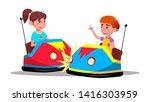 characters children driving... | Shutterstock .eps vector #1416303959