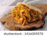 typical colombian dish for... | Shutterstock . vector #1416305570