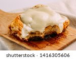 cinnamon rolls with cheese... | Shutterstock . vector #1416305606