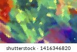 geometric design. colorful... | Shutterstock .eps vector #1416346820