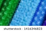 geometric design. colorful... | Shutterstock .eps vector #1416346823