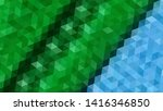 geometric design. colorful... | Shutterstock .eps vector #1416346850