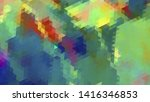 geometric design. colorful... | Shutterstock .eps vector #1416346853