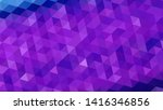 geometric design. colorful... | Shutterstock .eps vector #1416346856