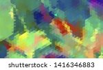 geometric design. colorful... | Shutterstock .eps vector #1416346883