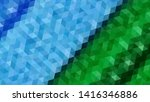 geometric design. colorful... | Shutterstock .eps vector #1416346886