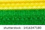 geometric design. colorful... | Shutterstock .eps vector #1416347180