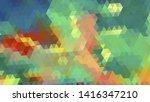 geometric design. colorful... | Shutterstock .eps vector #1416347210