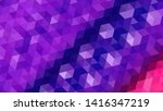 geometric design. colorful... | Shutterstock .eps vector #1416347219