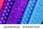geometric design. colorful... | Shutterstock .eps vector #1416347243