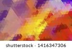 geometric design. colorful... | Shutterstock .eps vector #1416347306