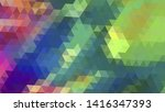 geometric design. colorful... | Shutterstock .eps vector #1416347393