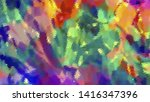 geometric design. colorful... | Shutterstock .eps vector #1416347396