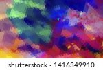 geometric design. colorful... | Shutterstock .eps vector #1416349910