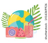 camera photographic with...   Shutterstock .eps vector #1416369926