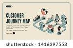customer journey map banner.... | Shutterstock .eps vector #1416397553