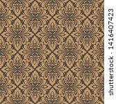 retro wallpaper or ancient...   Shutterstock .eps vector #1416407423