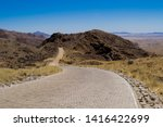 view on the spreetshoogte pass  ... | Shutterstock . vector #1416422699