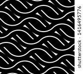 design seamless monochrome... | Shutterstock .eps vector #1416495776