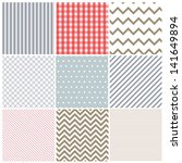 set of seamless patterns | Shutterstock . vector #141649894