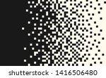 pixel random horizontal mosaic  ... | Shutterstock .eps vector #1416506480