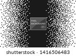 pixel mosaic. the effect of... | Shutterstock .eps vector #1416506483