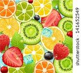 summer holidays vector... | Shutterstock .eps vector #141652549