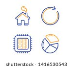 cpu processor  synchronize and... | Shutterstock .eps vector #1416530543