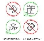 do or stop. next  secret gift...   Shutterstock .eps vector #1416535949