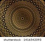 elegant background design with...   Shutterstock .eps vector #1416542093