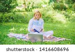 steps to start freelancing... | Shutterstock . vector #1416608696