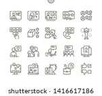 reviews well crafted pixel... | Shutterstock .eps vector #1416617186