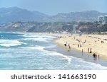 Santa Monica Beach  Los Angeles ...