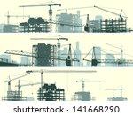 vector horizontal banner of... | Shutterstock .eps vector #141668290