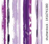 vector hand drawn paint stripe... | Shutterstock .eps vector #1416741380
