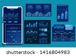modern dashboard vector design. ...