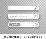 web ui simple elements. search...